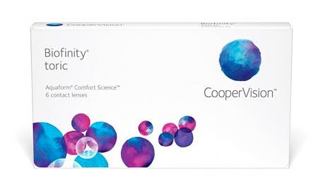 Lents de contacte COOPER VISION - Biofinity Toric