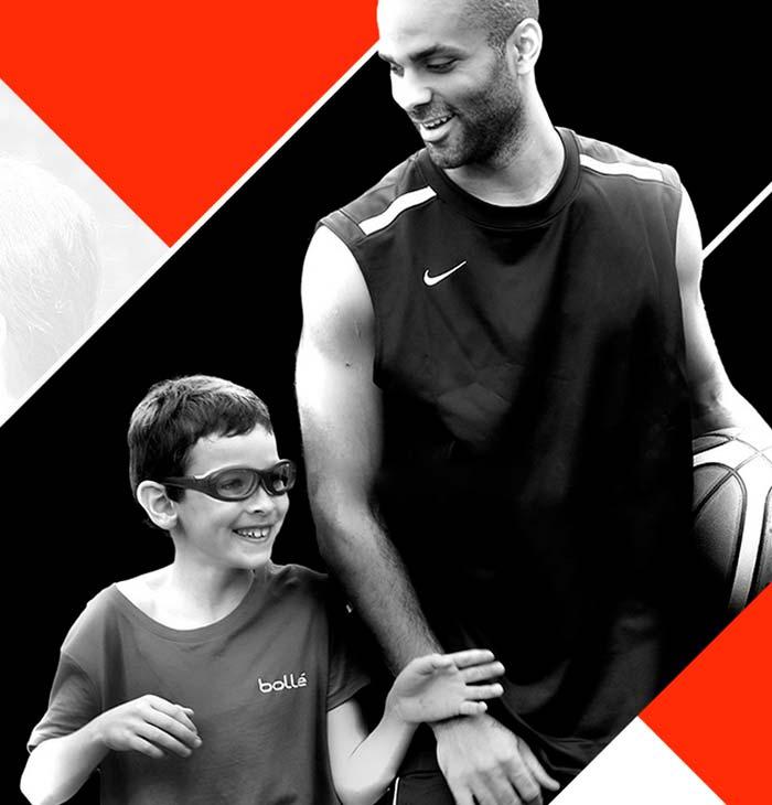 Ulleres Bollé protecció esport per a nens