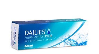 Lentilles dailies aqua comfort plus